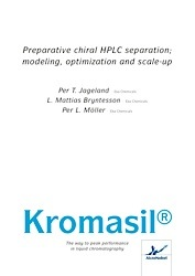 cover image for Preparative Chiral HPLC Separation; Modeling, optimization and Scale-Up
