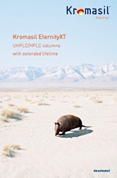 cover image for Kromasil EternityXT - UHPLC/HPLC columns with extended lifetime