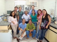 People at the Bioseparations Laboratory