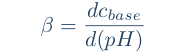 equation for buffer capacity for strong protolyte